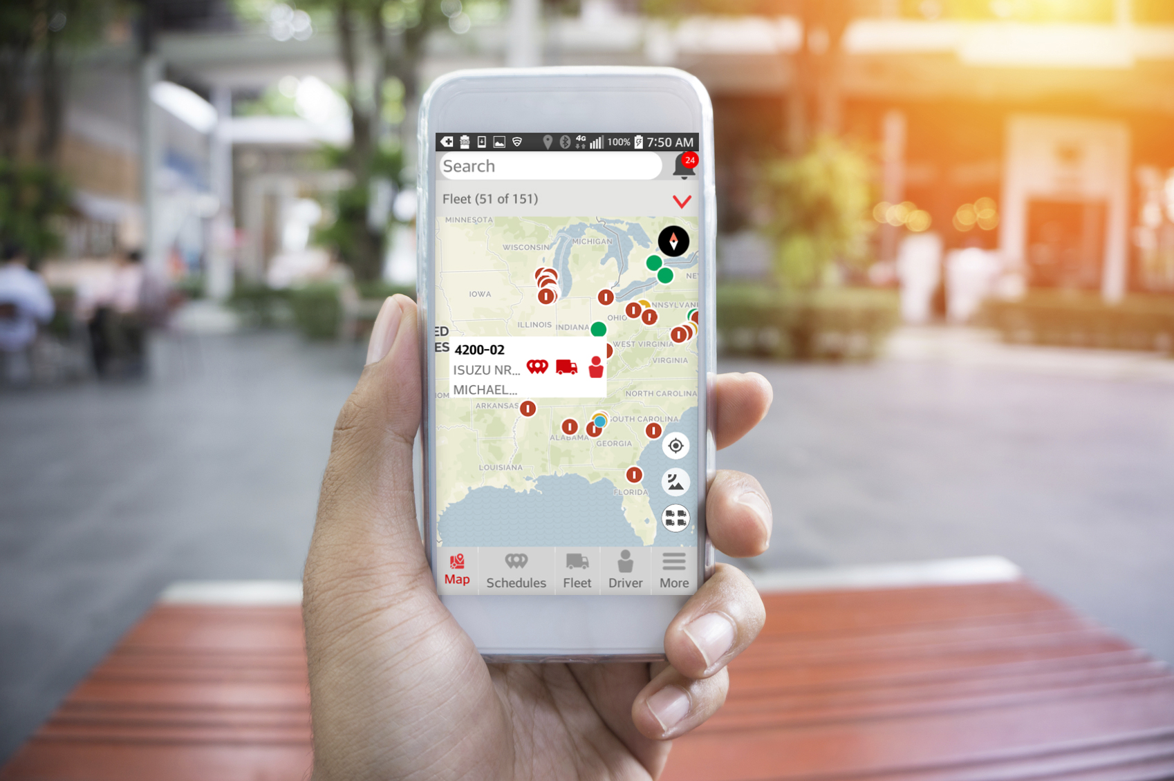 Networkfleet Manager: new mobile app lets you manage your fleet from your smartphone or tablet